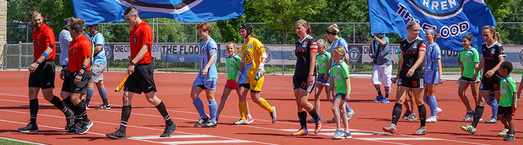 Torrent Women play Chicago City SC